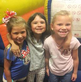 beautiful girls smiling